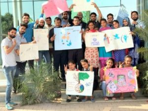 Gian Jyoti observed World day of  Water under the theme save water