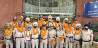 An award function was held at GO's Mess, Police Lines