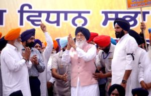 Former CM Parkash Singh Badal urges farmers not to pay their loans, saying Capt Amarinder had taken responsibility to pay the loans through sworn affidavits