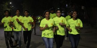 A First time in tricity Sports event- Exotic Grandeur Mirchi Neon Run