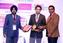 Shemrock  School excelled as Top School in Brainfeed School Excellence Awards
