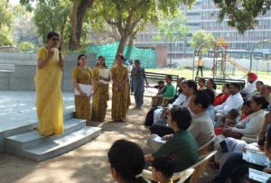 'Good touch and bad touch' discussed in Orientation Programme of Ankur School