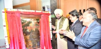 Navjot Singh Sidhulays foundation stone for ASSOCHAM in Chandigarh