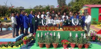 Satluj Public group of schools,  sector -2 Panchkula excelled in the 32nd Spring fest 2018 was organized by HSVP