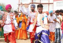 """Roshaan"" started with Baisakhi Celebrations today at Aryans Campus"