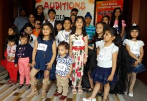 Chandigarh audition for India Kids Fashion Tour