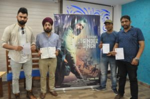 Chandigarh Chapter of Sikh Regiment writes to CM Punjab to make biopic Subedar Joginder Singh tax free