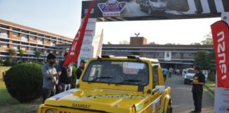 Sub Himalayan SJOBA Rally flags offSub Himalayan SJOBA Rally flags off