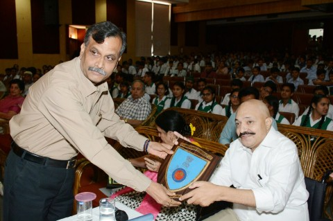 Chandigarh Traffic Police organized a Declamation Contest for school students