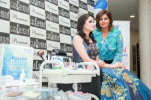 Cleopatra SPA SALON and MAKEOVER launched botanical and aqua beauty bar