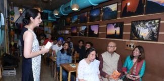 White Falcon Publishing organised fun activities at Books n Brew on World Book Day