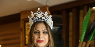 A unique beauty pageant for married women