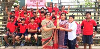 Ankur School's Aster House bags Intra-Football tournament