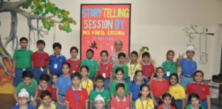 DIKSHANT BECOMES FIRST SCHOOL IN TRICITY WITH STORY TELLING IN CURRICULUM