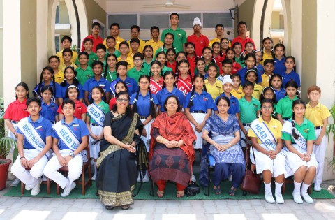 Investiture ceremony held at Ankur School