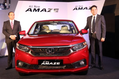 Honda Cars India launches All-New 2nd Generation Honda Amaze in ChandigarhHonda Cars India launches All-New 2nd Generation Honda Amaze in Chandigarh