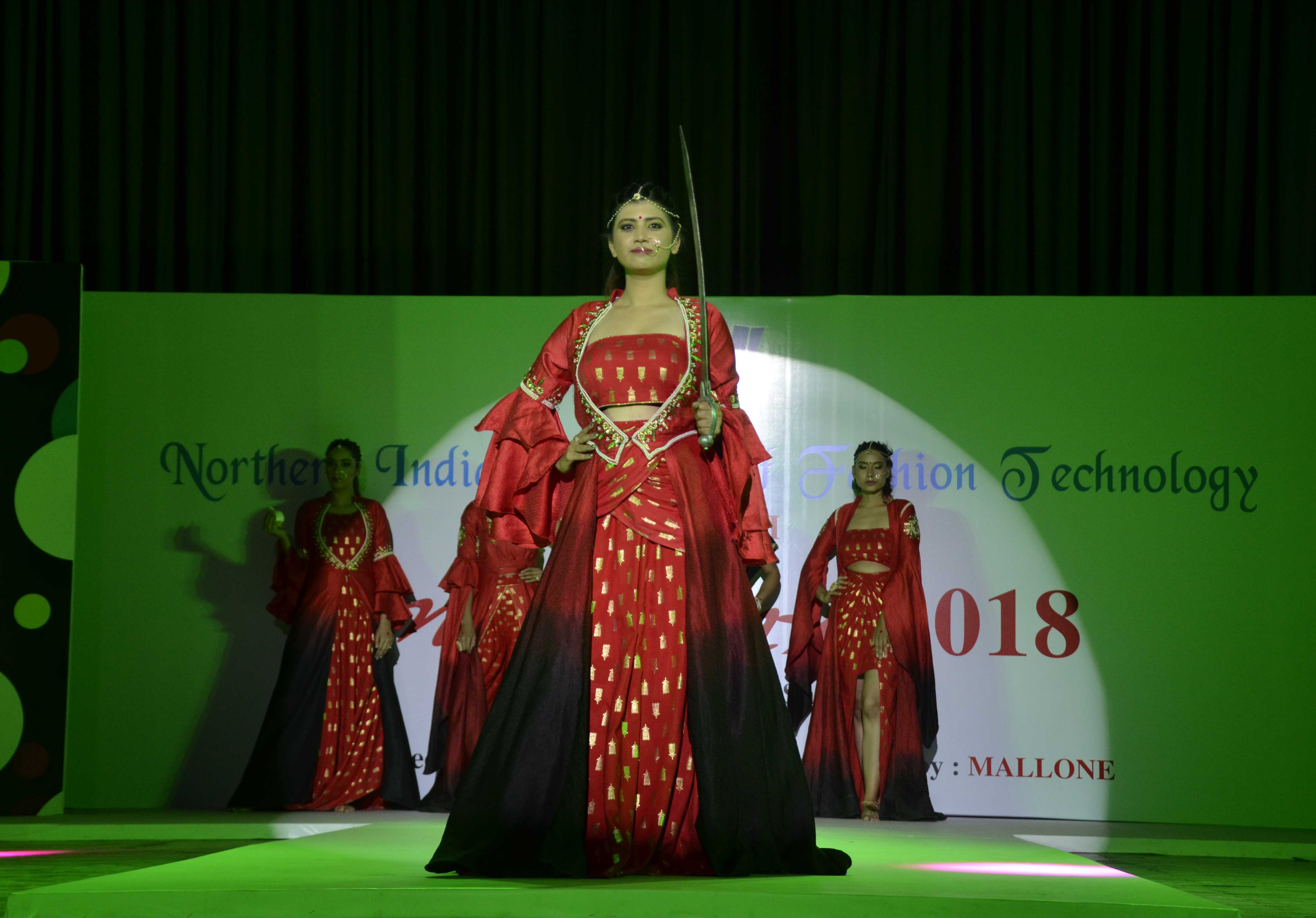 21st Anukama Fashion Show Of Niift Mohali Held