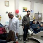 60 units of blood donated at blood donation camp