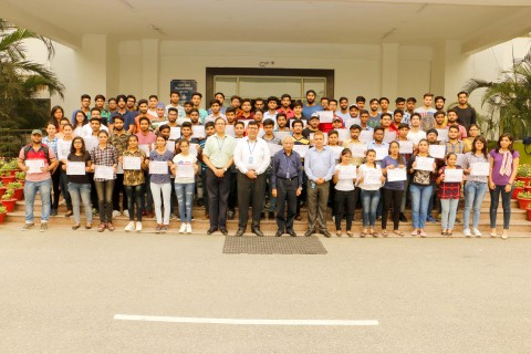 148 Students of CGC Jhanjeri received certificates from IIT Mumbai & SWAYAM