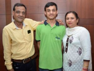18-yr old Allen Chandigarh student defies all odds; Bags AIR-10 in JEE Advanced