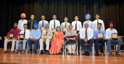 DC Mohali Honored 21 cadets at Shemrock School for being selected in Indian Arm forces