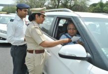 Chandigarh Traffic Police organized a special campaign