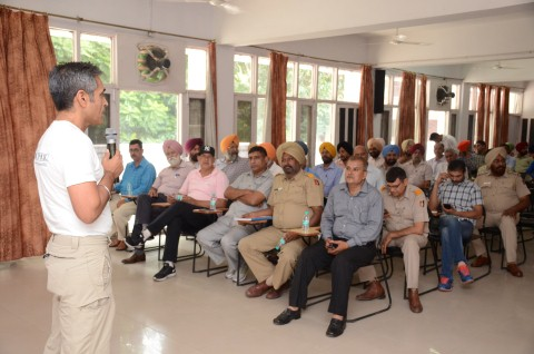 """Training programe on the topic of """"Sensitization of Police Personnel on Animal Laws"""