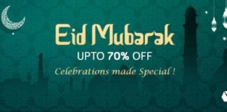 Snapdeal announced the launch of its Eid Store
