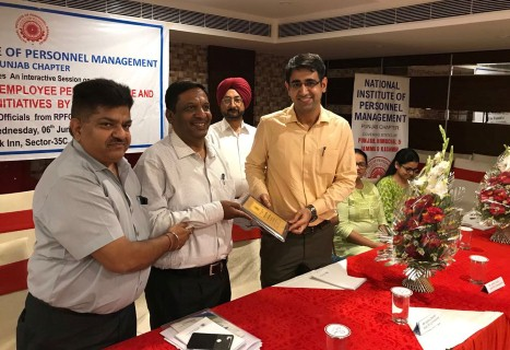NIPM holds session on Changes in Pension Scheme & PF, New Team elected