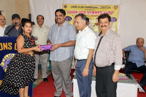 10 Days summer camp of Lions Club Chandigarh Greater concludes