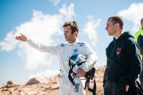"Romain Dumas: ""I have great respect for this mountain"""