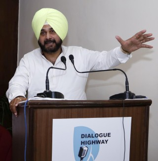 "Deliberations by such intellectuals will stir a revolutionary movement for ecological development"": Navjot Singh Sidhu"