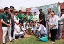 100 saplings planted under 'Rise for Green' campaign at Tech Mahindra Academy