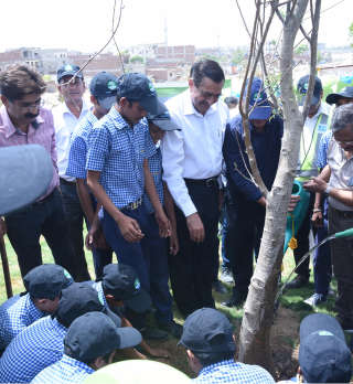 Green Thumb initiative launched on the banks of Dravyavati River in Jaipur