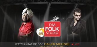 Daler Mehndi Folk Studio - Live with Punjabi Film heart throb Yuvraj Hans