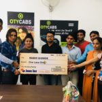 OTY Cabs extends support to Mix Martial Art champion Rashi Shinde