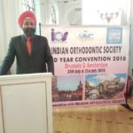 Dr Sarabjeet Singh invited by the Prestigious Belgium orthodontic society