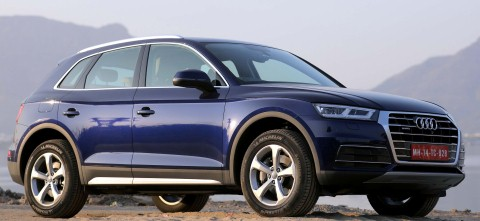 Test drive for all new Audi Q5 held
