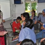 Renowned author conducts writing workshop at Dikshant