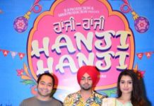 "Jordan Sandhu and Payal Rajput will be seen in Punjabi Film, ""Hanji Hanji"""