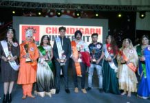'IConic Face of india (earth)' was held at chandigarh university