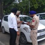 Special Drive by Chandigarh Police