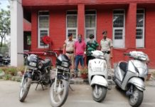 Chandigarh police achieved a major success by arresting the notorious accused involved in property crime