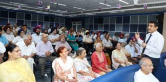 "Fortis holds Session on ""Hernia and its Management"" for senior citizens"