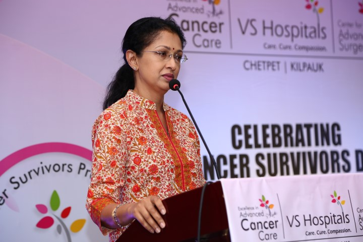 VS Hospitals honours Cancer Survivors