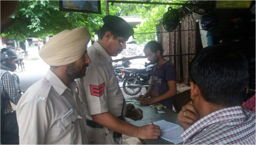Checking of Tenants, Servants, PG, Parking's, newly arrived street vendors