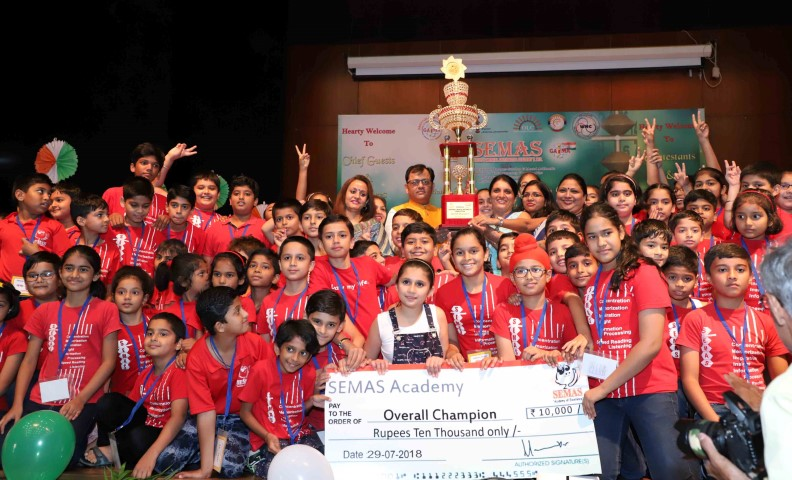 Over 700 students from across North India appear for abacus competition