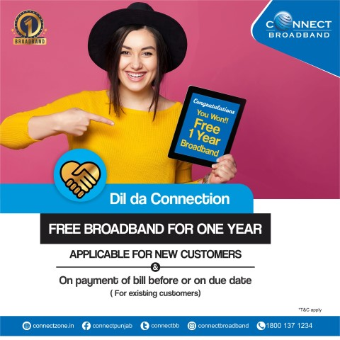 "Connect Broadband kicks-off ""Dil Da Connection"" campaign"