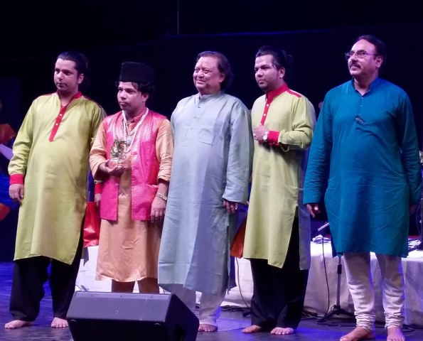 The presentation of the Nizami Brothers and Mr. Jaikishan Maharaj in the closing ceremony was an inspiration for the audience.