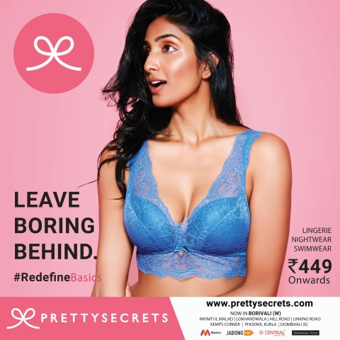 Pretty Secrets unveils Their Brand Advertising Campaign with Print & OOH